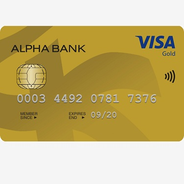 alpha card visa gold