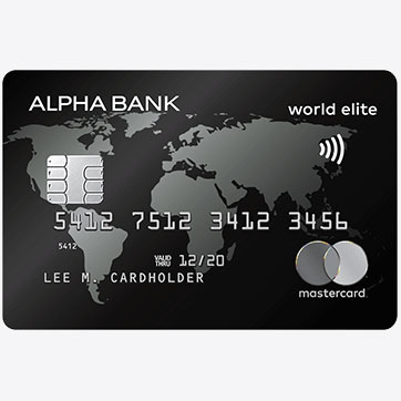 alpha bank mastercard world